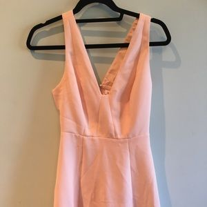 BCBG peach mini dress